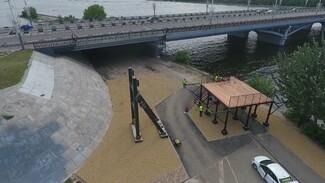 Перелетевших водохранилище на первом в городе троллее воронежцев вернут на берег лодкой