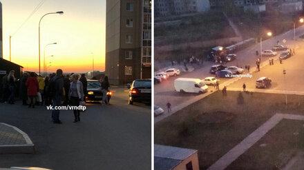 Во дворе воронежской многоэтажки 10-летний велосипедист попал под колёса иномарки