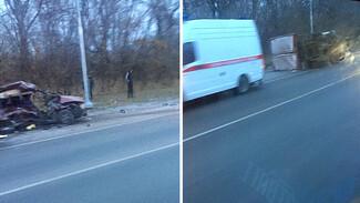 На трассе под Воронежем «ВАЗ» влетел в «Газель»: погибли двое