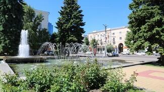 В центре Воронежа на неделю отключили фонтан