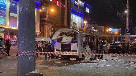 Семьям пострадавших при взрыве маршрутки в центре Воронежа выплатят матпомощь