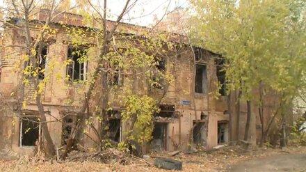 Старинный особняк в центре Воронежа восстановят к 2023 году
