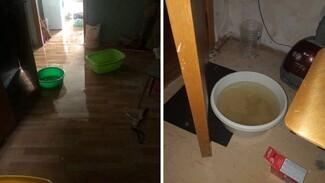 Комнаты в общежитии Воронежского медуниверситета затопило во время ливня