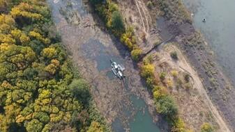 В Воронежской области расчистка реки Икорец подходит к завершению без насоса