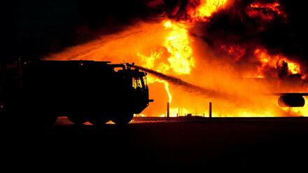 В Воронежской области при пожаре в жилом доме погибла пара