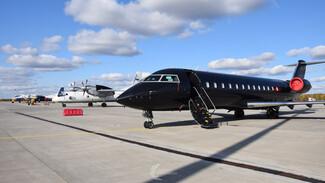 Воронежцам изнутри показали единственный в России чёрный самолёт