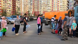 Коммунальная авария в Воронеже лишила воды жителей пригорода
