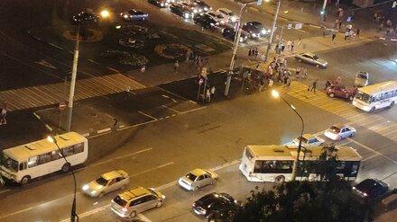В ДТП с маршруткой в Воронеже пострадали четыре человека
