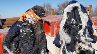Пострадавшие при взрыве газового баллона на воронежской трассе пошли на поправку