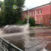 Воронеж ушёл под воду после первого летнего ливня