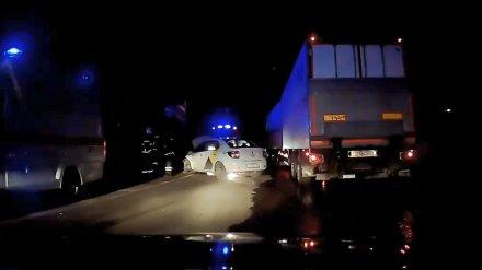 Жестоко напавший на жену воронежский таксист попал в ДТП