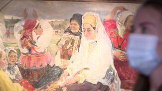 В Воронеже впервые за 50 лет открылась выставка художника Александра Бучкури