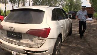 Воронежские гаишники поймали водителя-должника с чужими номерами на машине