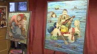 В Воронеже открылась необычная выставка рязанской художницы