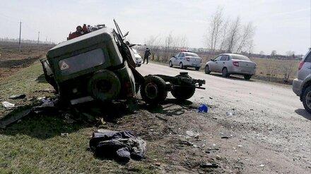 Трое взрослых и ребёнок погибли в ДТП в Воронежской области