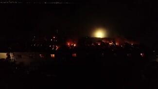Полыхавшая у гостиницы в Воронежской области фура едва не спровоцировала взрыв