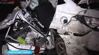 Следователи выясняют причины страшной аварии в Панинском районе