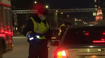В мартовские праздники на воронежских дорогах поймали 91 пьяного водителя