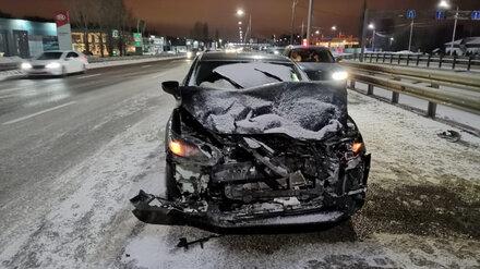 В аварии на трассе под Воронежем пострадали 3 человека