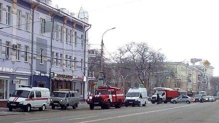 Неизвестные сообщили о заминировании мэрии Воронежа