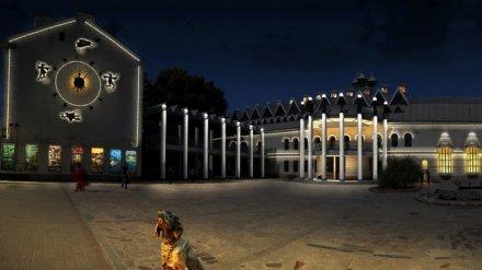 В Воронеже к концу осени архитектурной подсветкой украсят здания на проспекте Революции