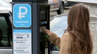 В Воронеже рассказали, когда начнут штрафовать за неоплату парковки