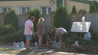 Авария на водопроводе в Россоши