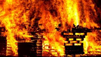 В Воронежской области при пожаре в частном доме погиб пенсионер