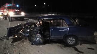 В Воронежской области в боковом столкновении легковушек пострадали трое