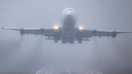Из-за сильного тумана в Воронеже не смог сесть самолёт из Санкт-Петербурга