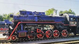 Ретропоезд на паровозной тяге отправился в первую поездку по Воронежской области