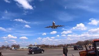 Появилось видео испытаний над Воронежем нового «президентского» самолёта