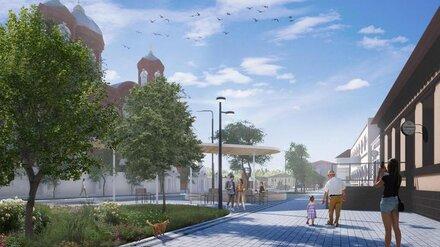 В Бутурлиновке начали подготовку к реновации центра города