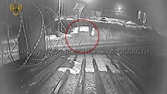 Появилось видео момента ДТП, в котором погибла компания молодёжи в Воронежской области