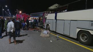 Авария с автобусами в Воронежской области