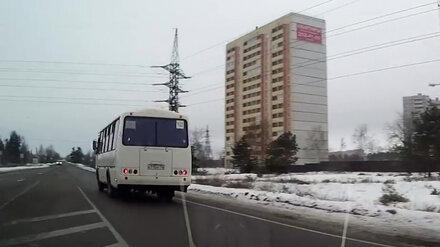 В Воронеже водителя пассажирского автобуса оштрафовали за грубое нарушение ПДД