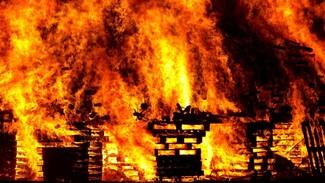В Воронежской области в сгоревшем доме нашли труп мужчины