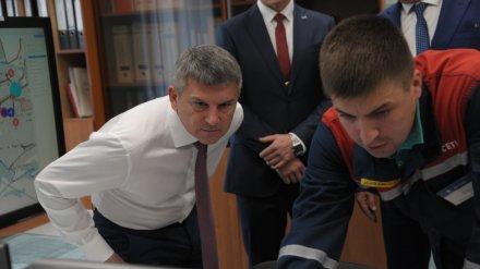 Гендиректор «Россети Центр» проверил работу электросетей Воронежской области