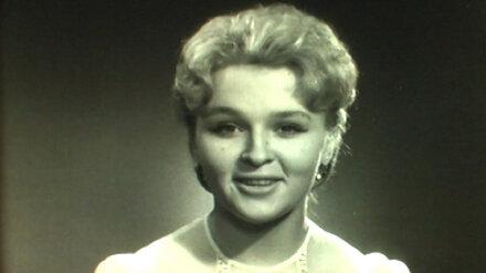 Из жизни ушла одна из первых дикторов воронежского телевидения и радио Лидия Харчева