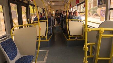 В Воронеже изменят движение три автобусных маршрута