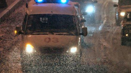 Под Воронежем «ВАЗ» сбил мужчину и 15-летнюю девочку на пешеходном переходе