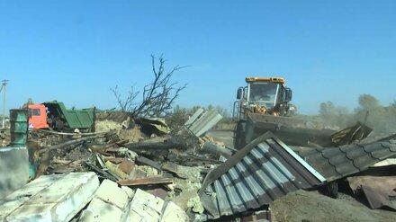 Большинство жителей сгоревшего воронежского села захотели новые дома на том же месте