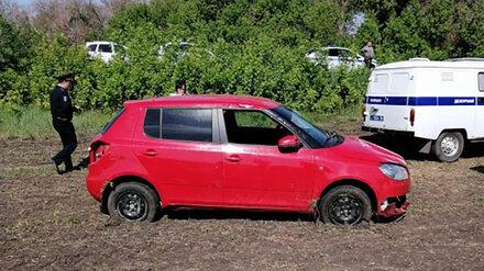 Водитель погиб при опрокидывании иномарки на воронежской трассе