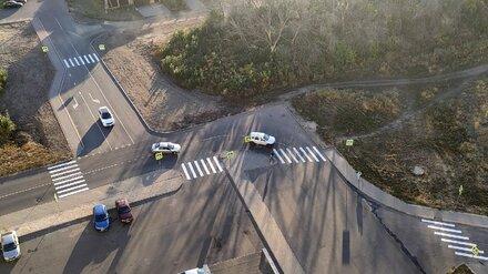 Шиловцы остались недовольны нарисованными зебрами на опасной дороге