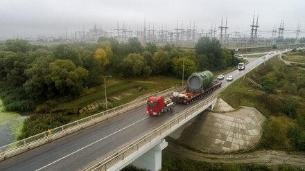 Застрявший под Воронежем реактор спустя 5 месяцев доставили на Курскую АЭС