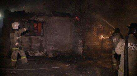 Число сгоревших домов из-за лесного пожара в воронежском селе выросло до 50
