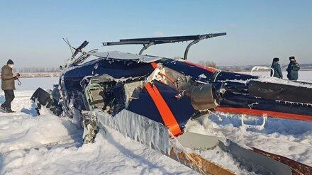 В причинах ЧП с вертолётом под Воронежем разберутся следователи