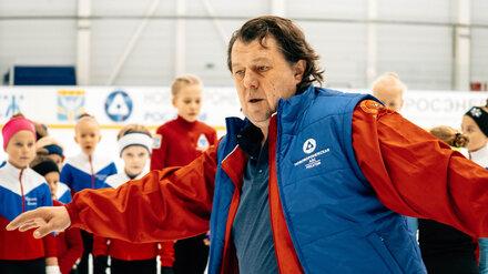 Двукратный олимпийский чемпион провёл мастер-класс для юных воронежских фигуристов