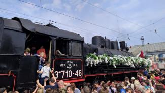 В Воронеже встретили «Поезд Победы»