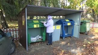В воронежском посёлке начали сортировать мусор ради сохранения уникальной Каменной степи